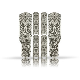 Riesel Design chain:TAPE 3000, zwart/wit